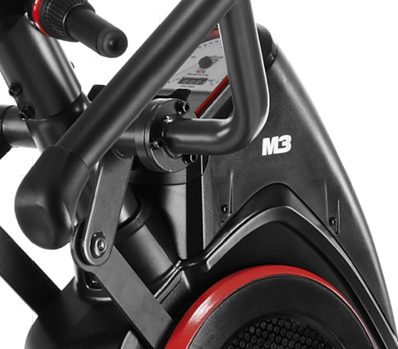 bowflex max trainer m3 side view