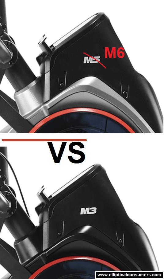 bowflex max trainer m5/m6 vs m3
