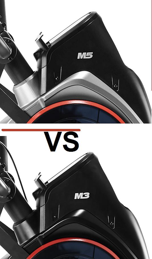 bowflex max trainer m5 vs m3