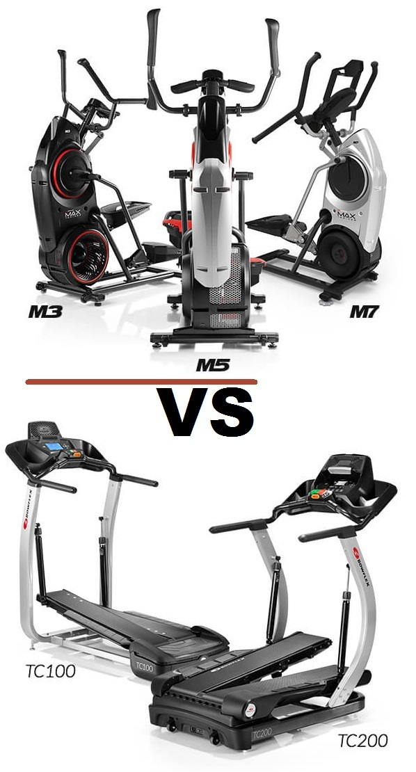 bowflex max trainer vs treadclimber