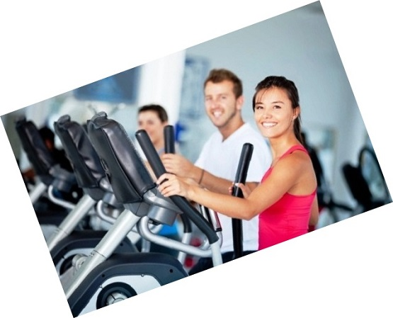 elliptical buying guide - women at gym