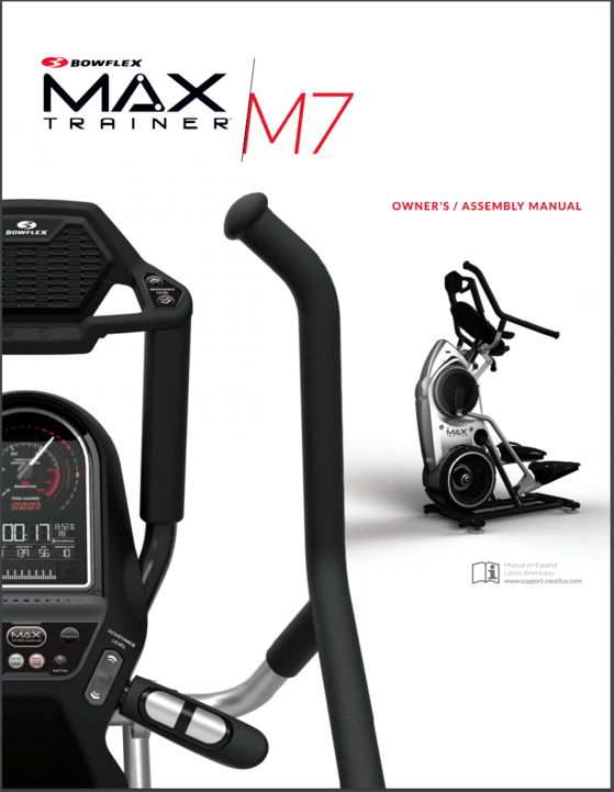 max trainer m7 owners manual