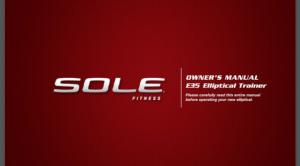 sole e35 elliptical price