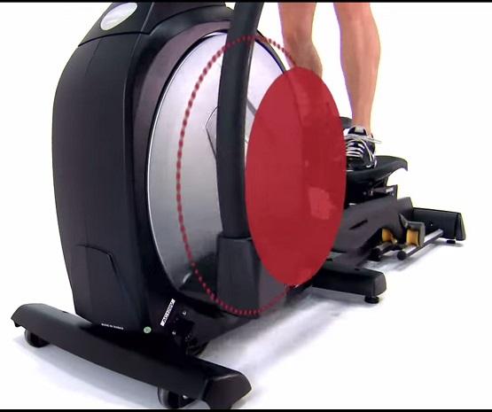 sole elliptical fly wheel